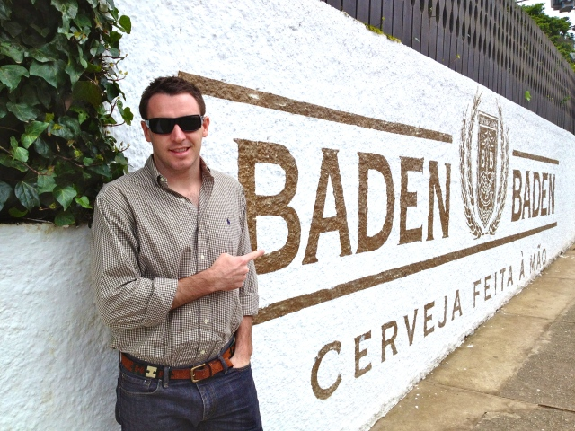 Baden Baden Brewery!  One of our favorite Brazilian beers!