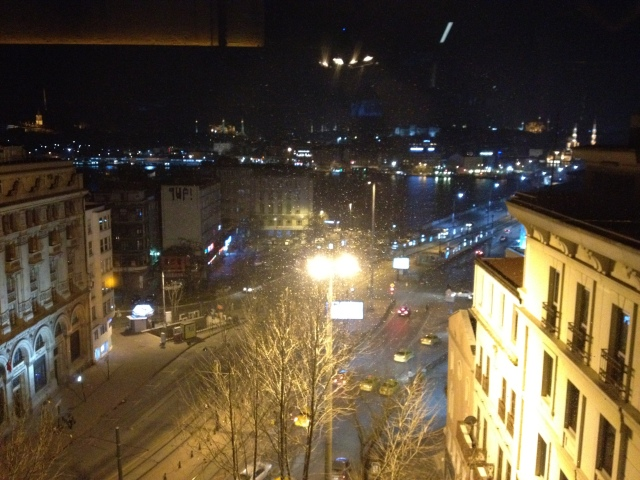 View from the hotel