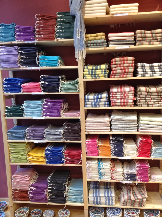Turkish towels - my favorite!!