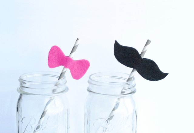 mustache bow