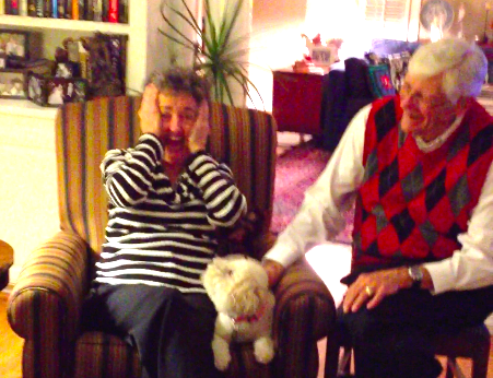 Nan had the best reaction!