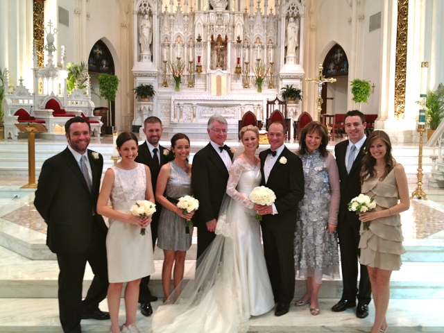 Harper family with Mike & Shannon!  *Note: Sharon's dress is from their most recent visit to Brazil!  :)