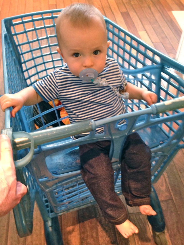 Culhane loves grocery shopping.