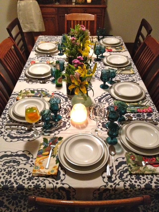 Paige's beautiful table!