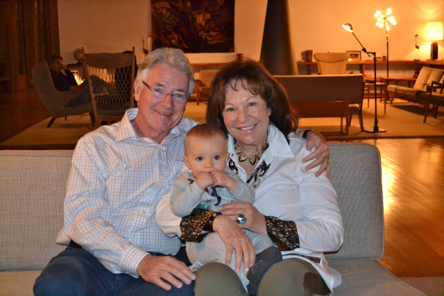 Colt loves his grandparents!