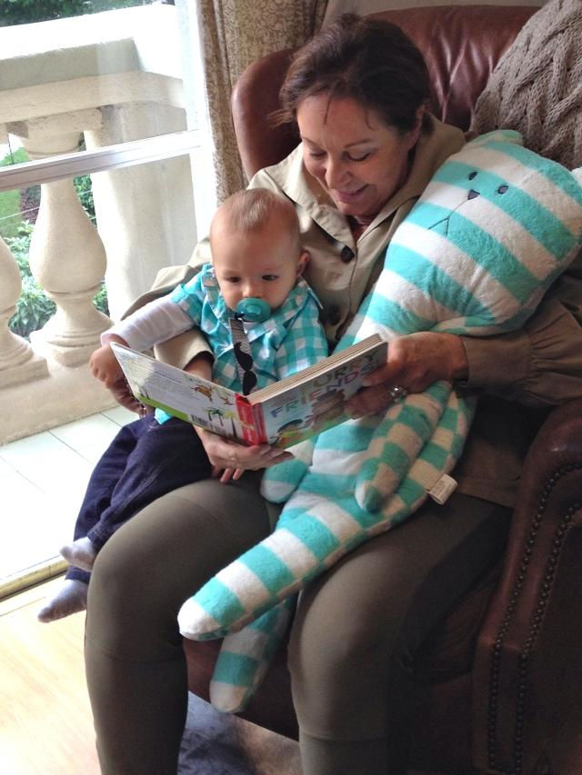 Nana, Colt & WInk reading.