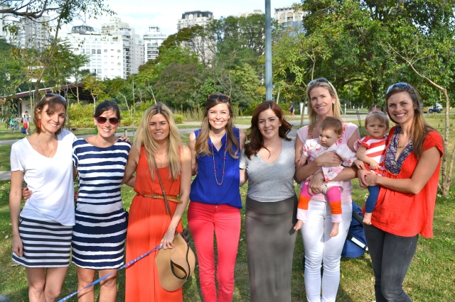 All the girls! Suzanna, Jana, Colby, me, Jane, Brett & Campbell, Paige & Mailey!