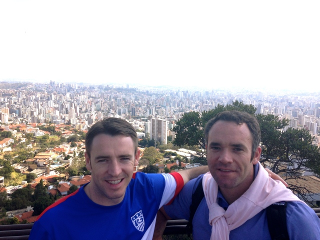 Michael & Joe in Belo Horizonte.