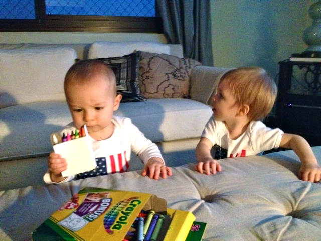 Our American babies!