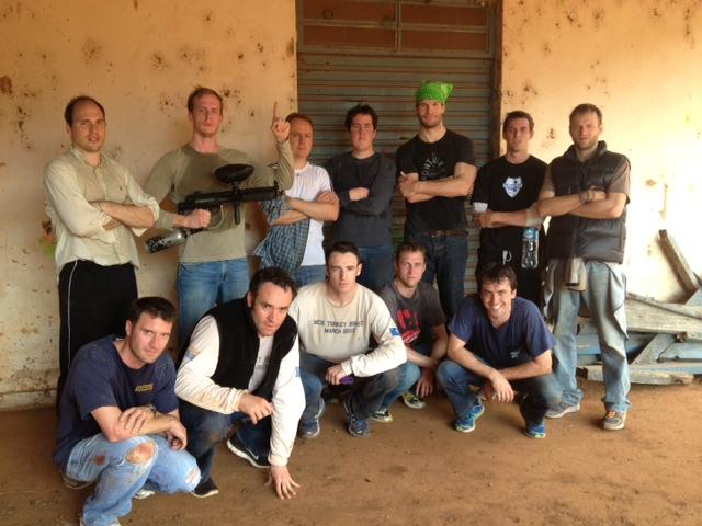 Shooter Weekend Crew: Trent, Kenneth, Brian, Zach, Brad, Hayden, Jamie, Alex, Joe, Michael, Jeff and  Tom!