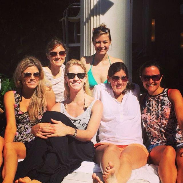 Colby, Suzanna, me, Brett, Jana, Michelle!