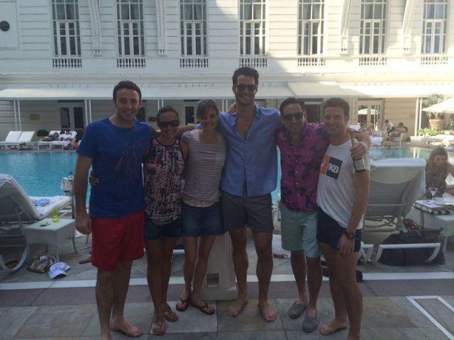 The runners! Michael, Michelle, Suzanna, Brad, Bryan & Alex.