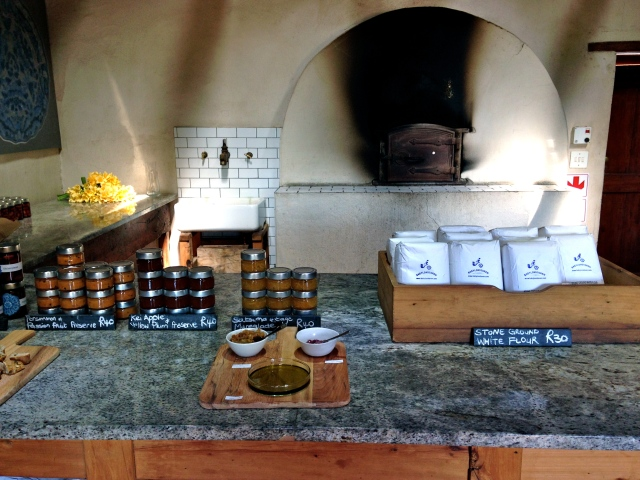 Yummy farm-to-table products.