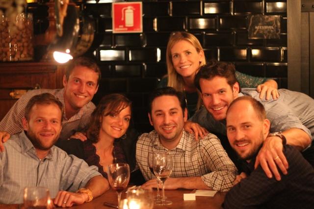 Jamie, Jeff, Suzanna, Bryan, Brett, Brad, Trent