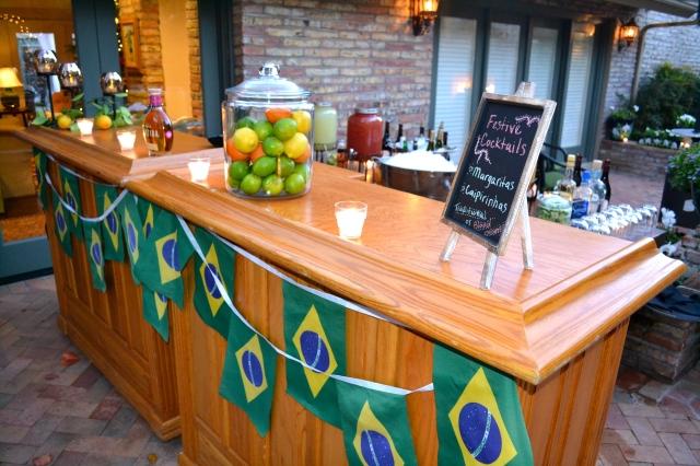 Brazil bar #2 featuring caipirinhas and margaritas!