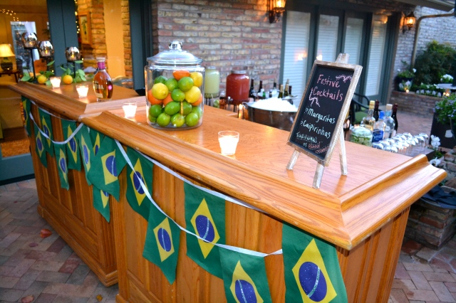 Brazil bar #2 featuring caipirinhas and margaritas!