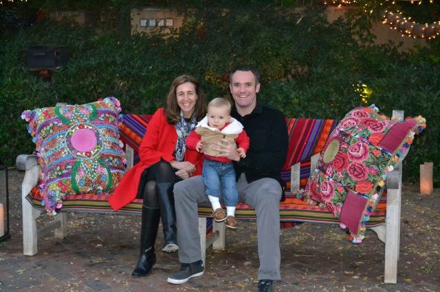 Aunt Lise & Uncle Joe with Colt.
