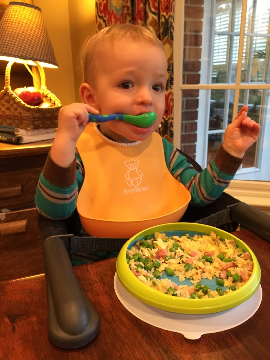 Colt loved Gigi's fried rice. Thankfully this is one I can make too.