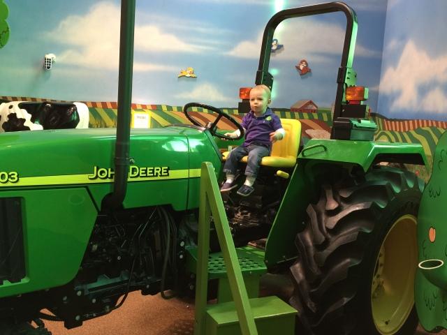 Big tractor!