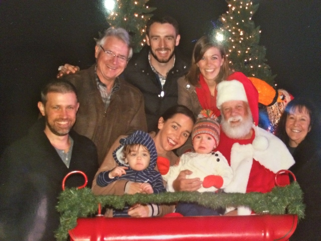 Family pic with Santa!