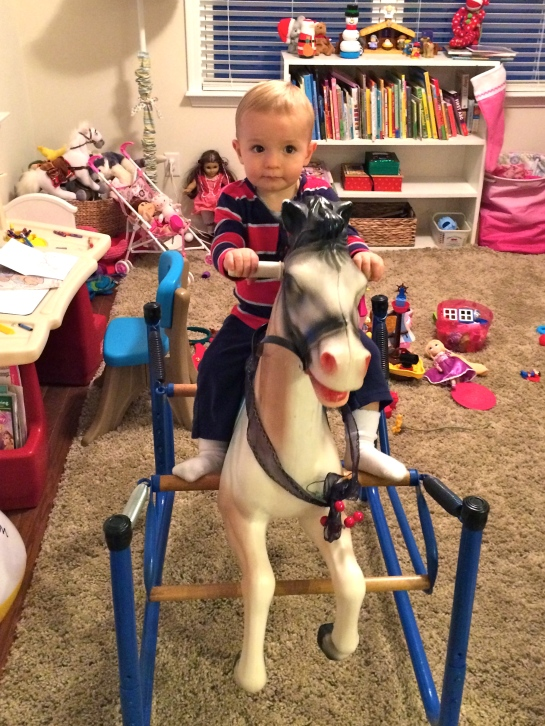 Colt loved Augusta Clare's horse.