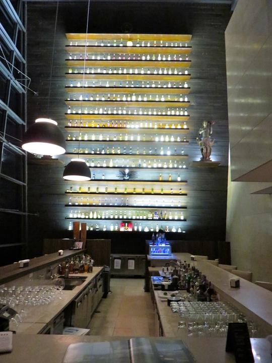 Hotel Unique's sweet bar.