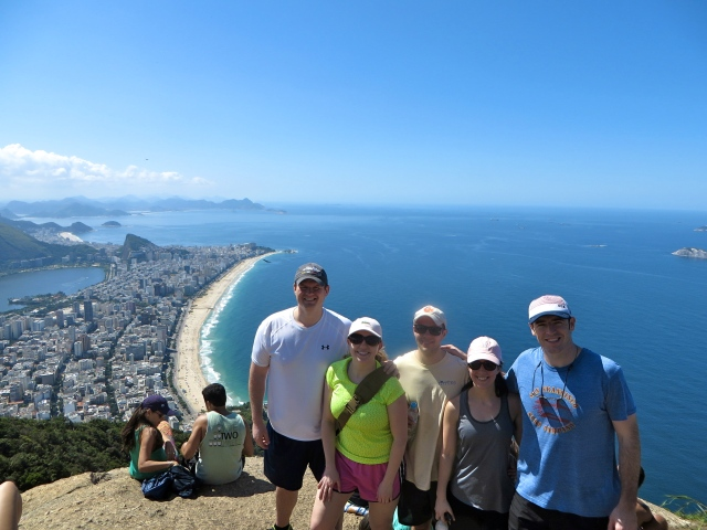 Group shot at the top!