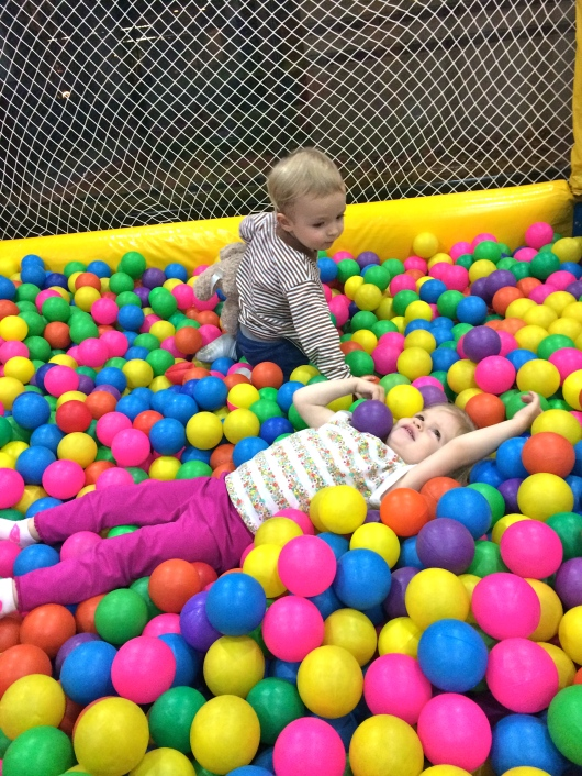 Ball pit with Mailey!