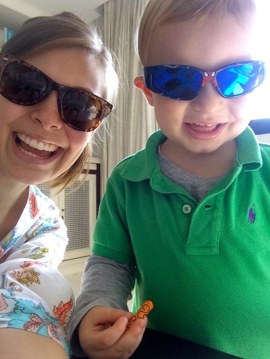 Sunglasses are so cool.