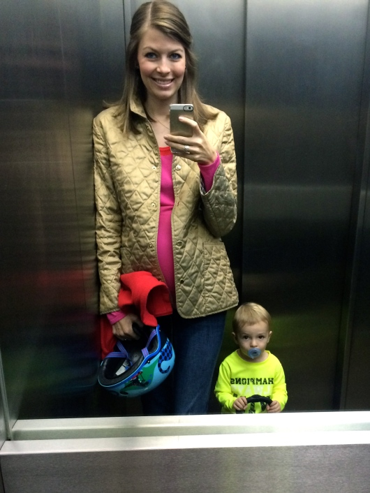 Final elevator selfie.