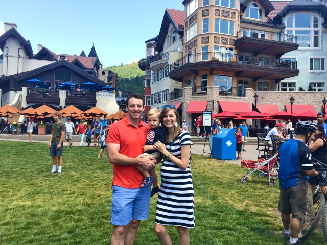 Vail Village behind.