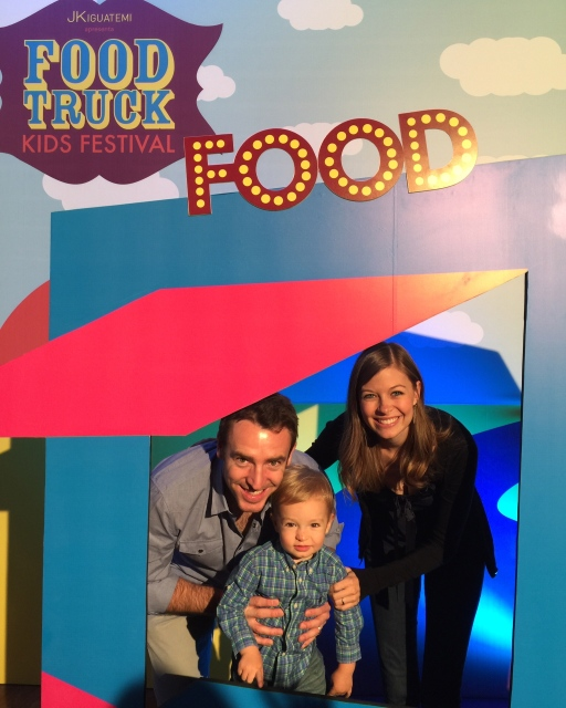 Family outing to the Kids' Food-Truck Festival!