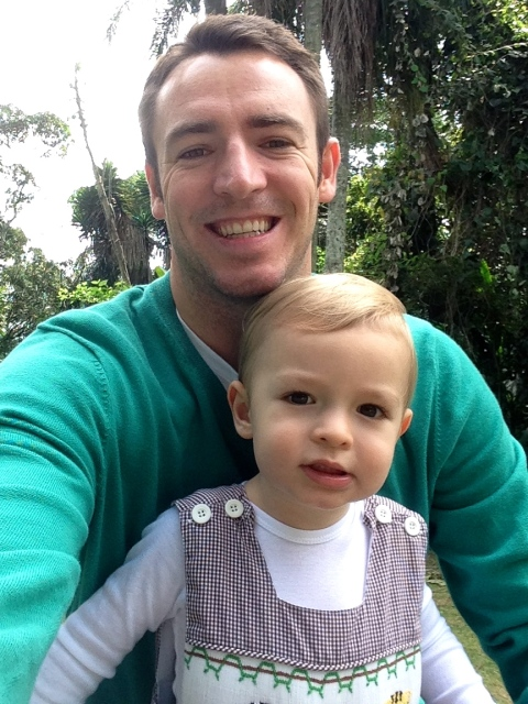 Boys at the zoo!