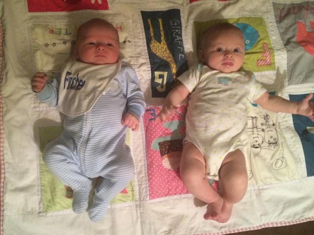 Finn with his girlfriend Coralie Hudson. 8 weeks apart.